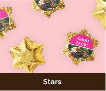 Custom Chocolate Stars For Spring Racing Carnival