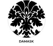 Damask Wedding Theme Favours