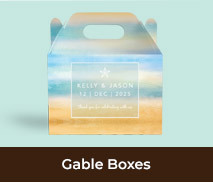 Gable Box Favour Boxes For Weddings