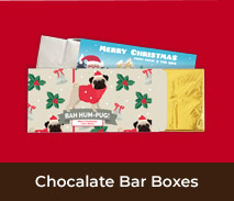 Christmas Chocolate Bar In A Personalised Box