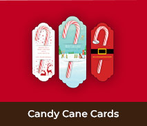Christmas Candy Cane Cards