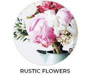 Thank You - Rustic Flowers