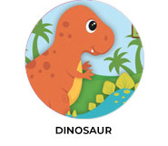Dinosaur Party Personalised Birthday Favours