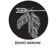 Boho Arrow Personalised Birthday Favours