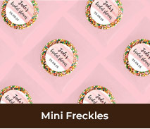 Personalised Bridal Shower Mini Freckles