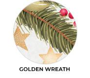 Golden Wreath Theme Custom Christmas Favours