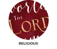 Religious Theme Custom Christmas Favours