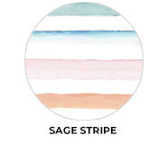 Sage Stripe Personalised Easter Chocolates