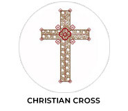 Christian Cross Personalised Easter Chocolates
