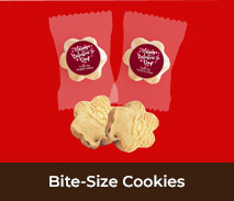 Custom Bite-Size Cookies For Valentines Day