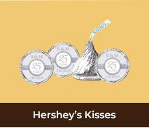 Hersheys Kisses For Wedding Anniversaries