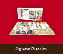 Personalised Christmas Chocolate Jigsaw Puzzles