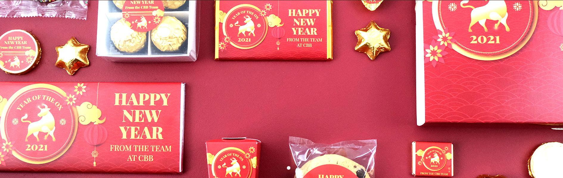 Chinese New YEar Personalised Chocolates