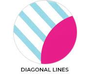 Thank You - Diagonal Lines