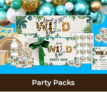 Birthday Personalised Party Packs