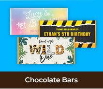 Birthday Chocolate Bars