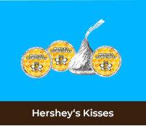 Personalised Hershey's Kisses For Kids Birthdays