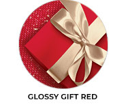 Glossy Gift Red Theme Custom Christmas Favours