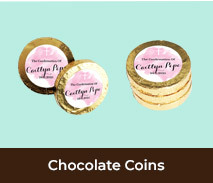 Chocolate Gold Coins For Confirmations