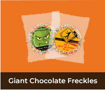 Halloween Giant Chocolate Freckles