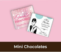 Hens Night Mini Chocolates