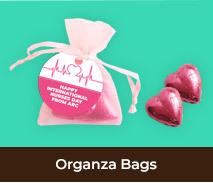 International Nurses Day Custom Organza Bags