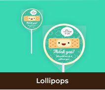 Personalised Lollipops For Nurses Day
