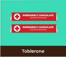 International Nurses Day Personalised Toblerone