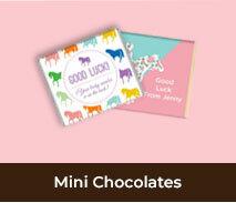 Horse Racing Carnival Mini Chocolates