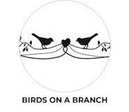 Birds On A Branch Wedding Theme Favours