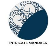 Intricate Mandala Theme Wedding Favours