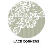 Lace Corners Wedding Theme Favours