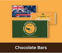 Personalised Australia Day Chocolate Bars