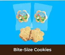 Bite-Size Custom Cookies For Kids Parties