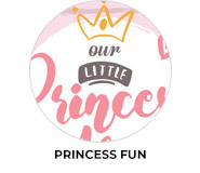 Princess Fun Personalised Birthday Party Favours