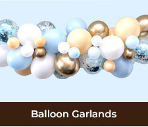 Christening Baptism Balloon Garlands