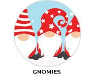 Gnomies Theme Custom Christmas Favours