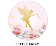 Little Fairy Theme Personalised Birthday Favours