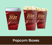 Personalised Popcorn Boxes For Graduation