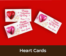 Valentines Day Heart Cards