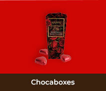 Valentines Day Personalised Chocaboxes