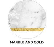 Marble And Gold Theme Wedding Favours