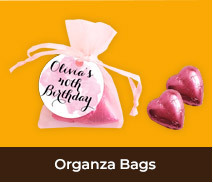 Personalised Organza Bags For Adult Parties