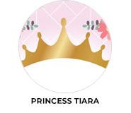 Princess Tiara Personalised Birthday Party Favours