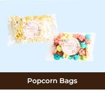 Personalised Popcorn For Christenings