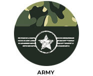 Army Theme Personalised Birthday Favours