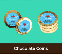 Gold Chocolate Coins For International Nurses Day