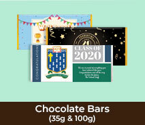 School Custom Chocolate Bars
