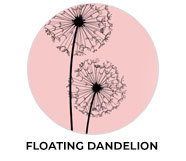 Floating Dandelion Wedding Theme Favours