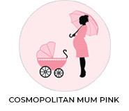 Cosmopolitan Mum Pink Baby Shower Favours